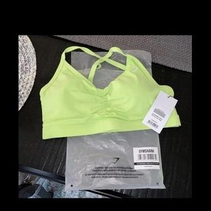 Gymshark Intimates & Sleepwear - Bright Green Gymshark Bra Medium